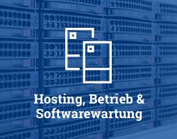 Hosting, Betrieb und Softwarewartung