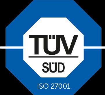 TÜV ISO 27001 zertifiziertes Rechenzentrum