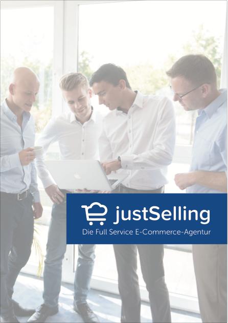 justSelling Firmenbroschüre